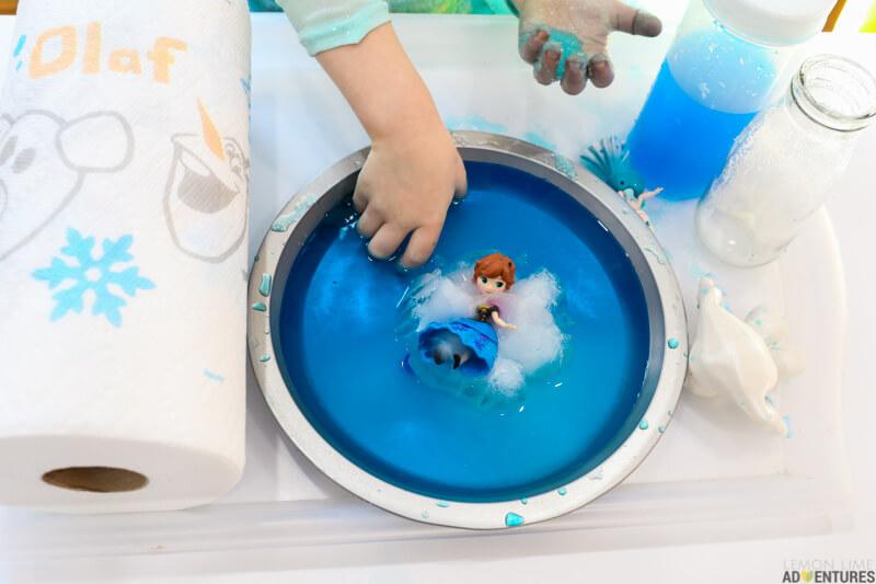 Frozen Science Experiment