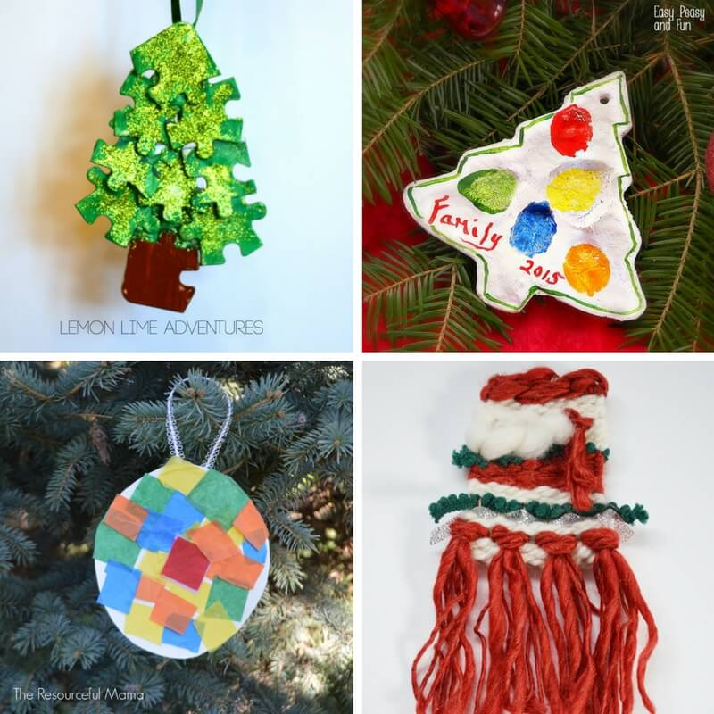 Totally Awesome Kid-Made Ornaments!