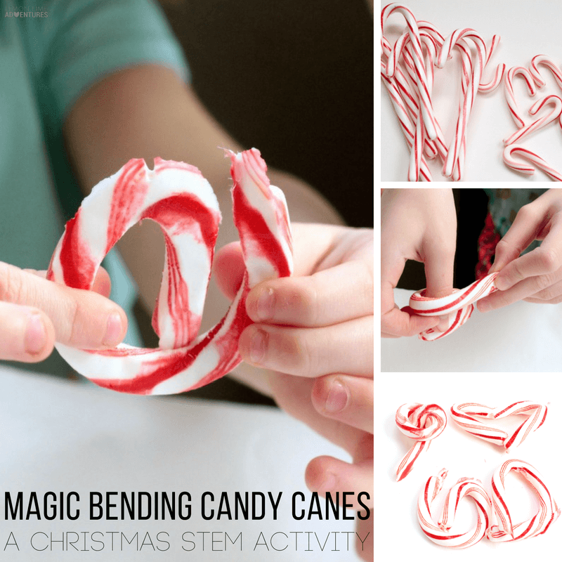 Kids will love this seemingly magic science experiment where bending candy canes can really happen! What a fun way to use old candy canes!