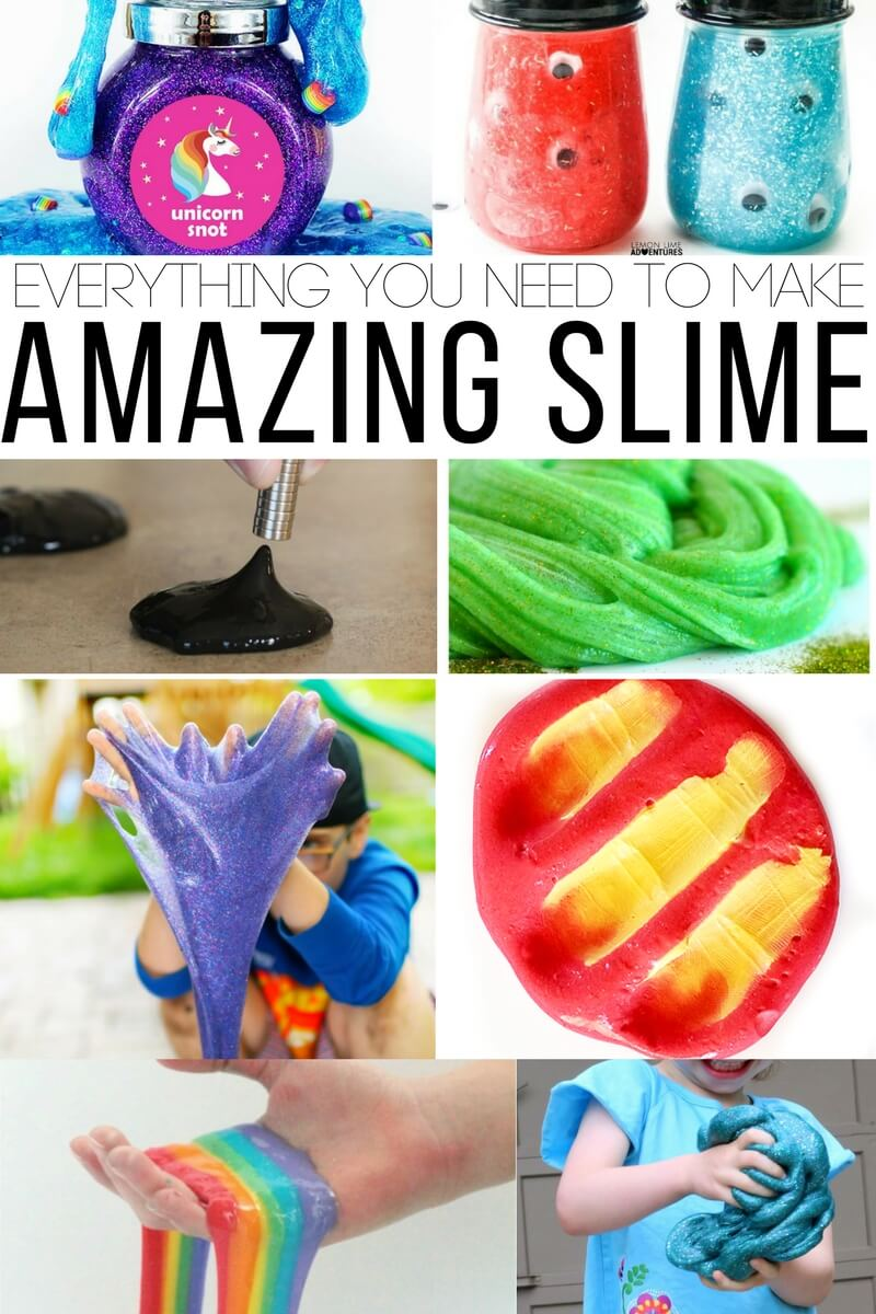 Everything You Need to Make Totally Amazing Slime