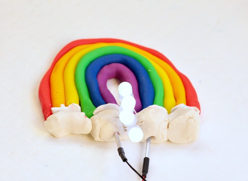 Squishy Circuit Rainbow: Electrical Engineering Challenge for Kids