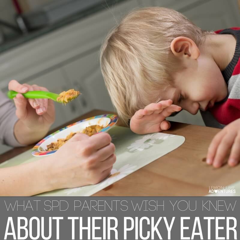 30 Things SPD Parents Secretly Wish you know about Their Picky Eater