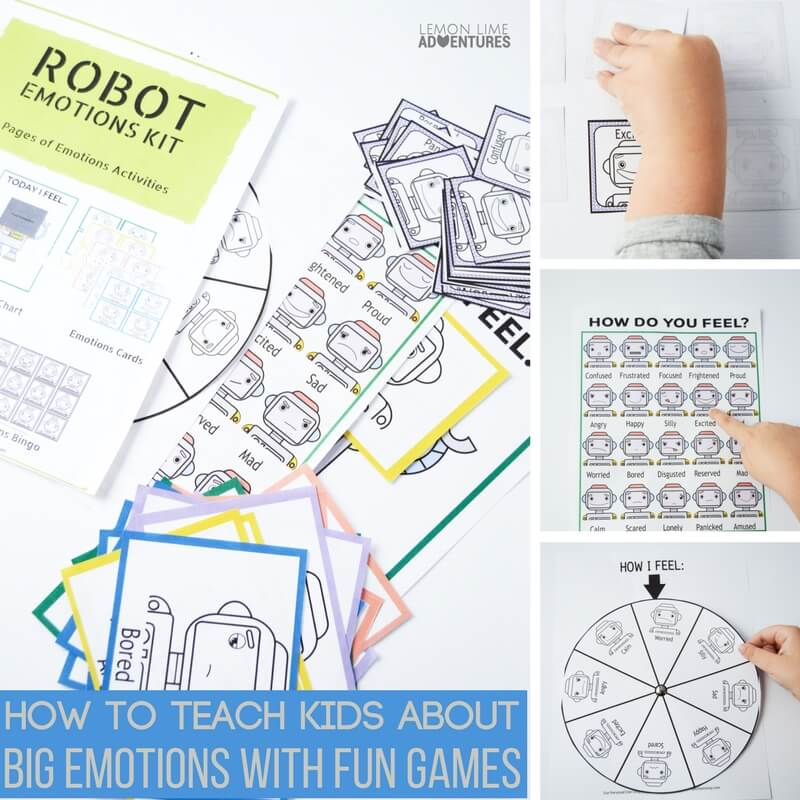 How to Teach Kids About Out of this World Big Emotions With Fun Games
