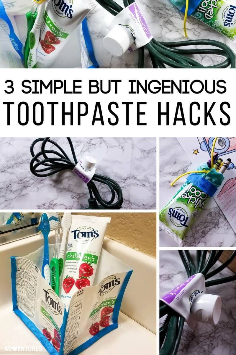 3 Simple and Ingenious Toothpaste Hacks