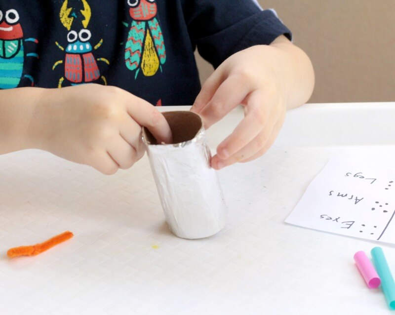 Build a Robot Game STEM Challenge for Preschool