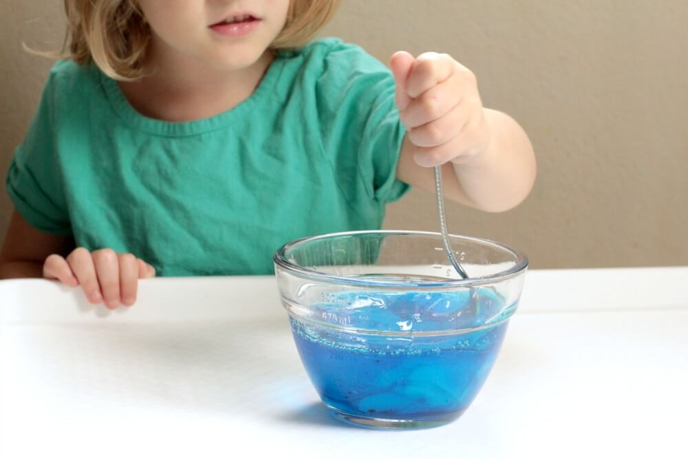 Slime Bubbles: Science and Sensory Fun