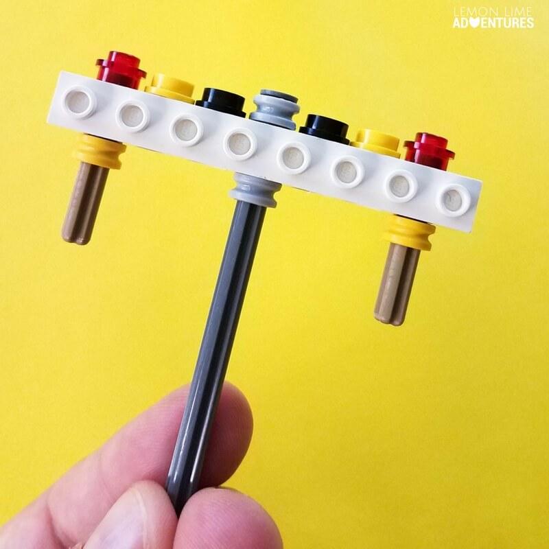 Calm Down DIY Lego Fidget Spinner