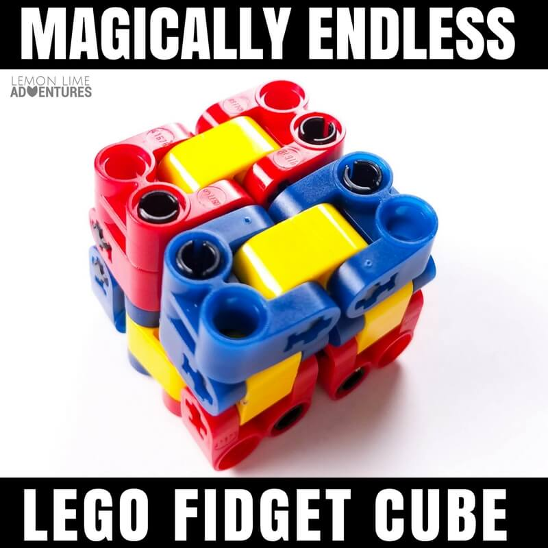 DIY Lego Fidget Cube