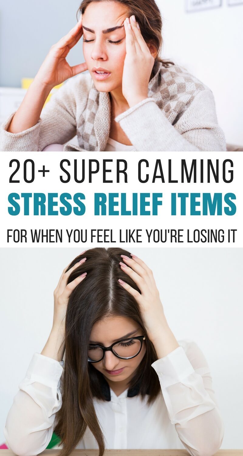 20+ Super Calming Stress Relief Items for When You Feel Like You're Losing It