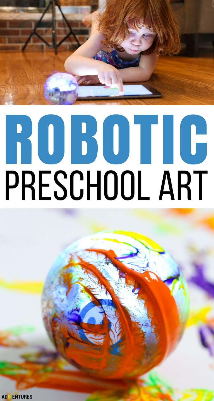 Robotic Preschool Art - Simple Coding for Kids