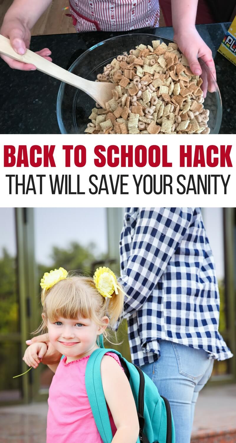 This Back to School Hack Will Save Your Sanity (and Time)
