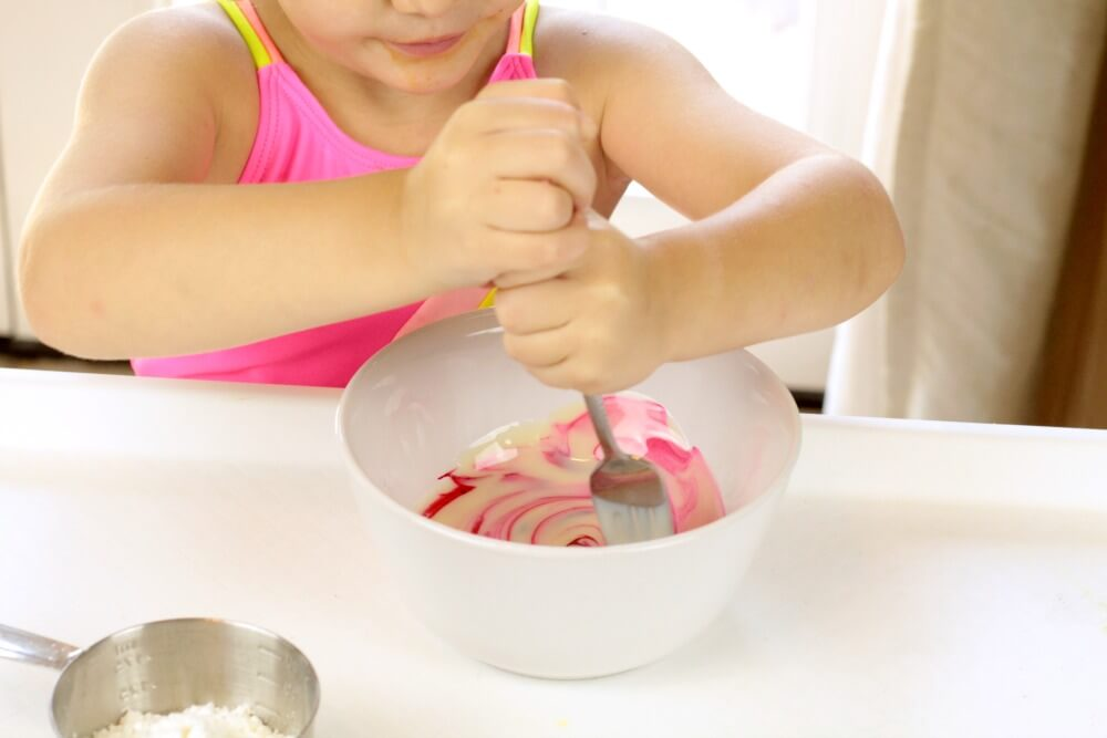 The Best Recipe for Edible Slime for Sensory Seekers!