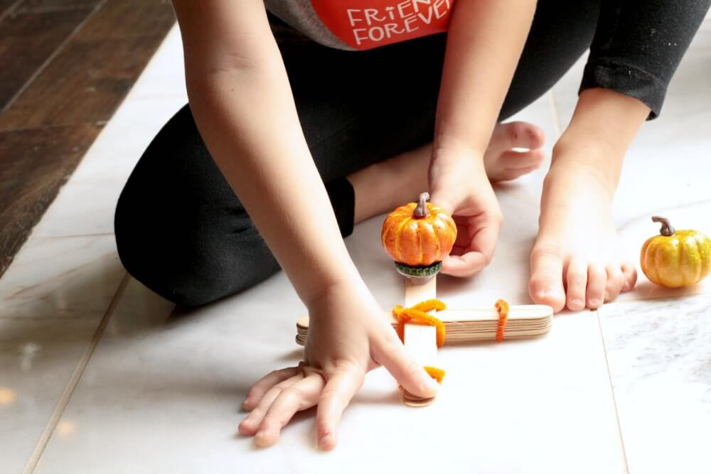 Pumpkin Catapult Fall STEM Activity