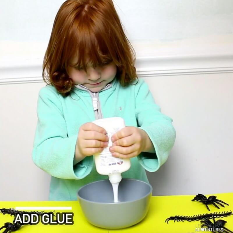 Super Simple 3-Ingredient Creepy Crawly Slime