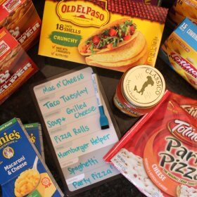 meal planning tip for picky eaters