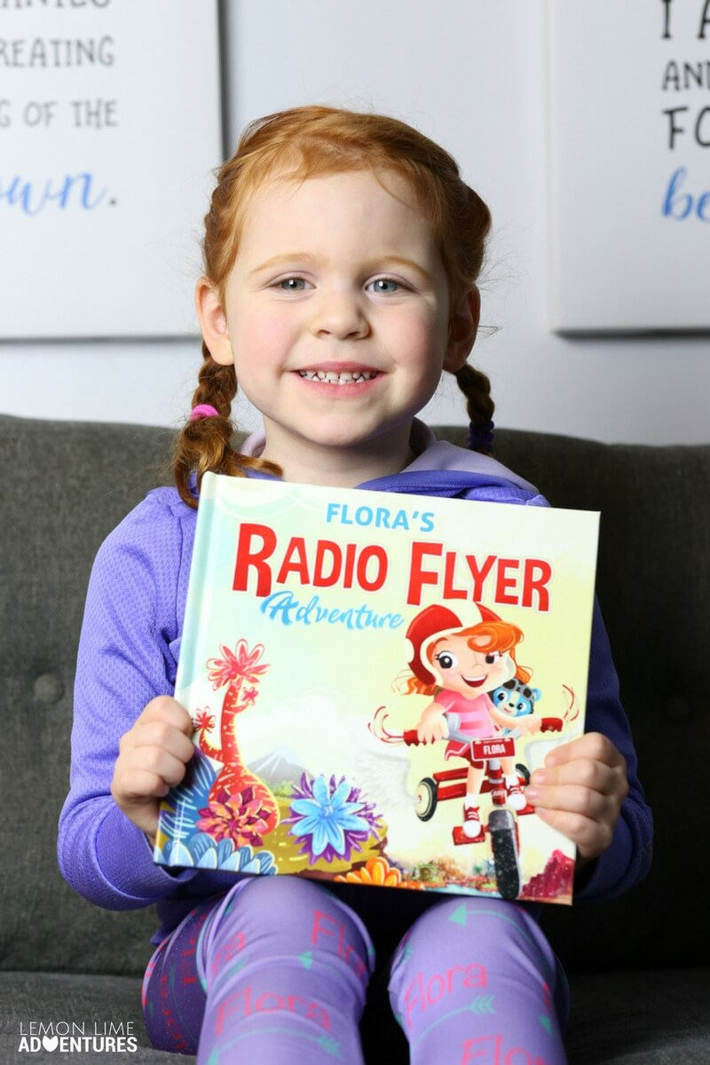 Radio Flyer I See Me Book Example