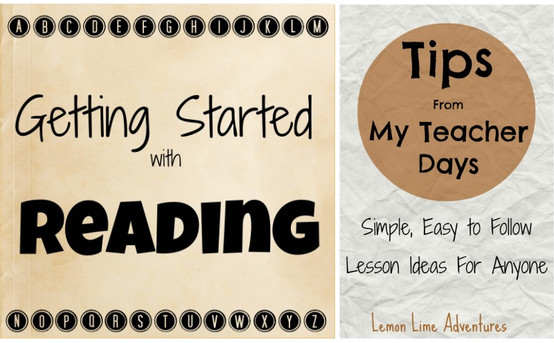 homeschool getting started with reading