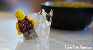 Lego Science: An Ice Excavation Experiment
