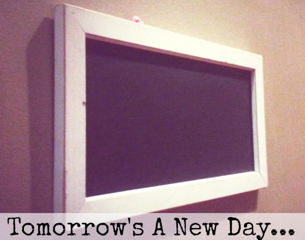 Tomorrow's A New Day