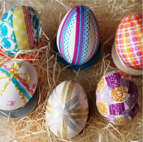 Washi Eggs- The Paper Place