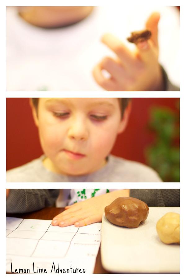 Testing Edible Playdough