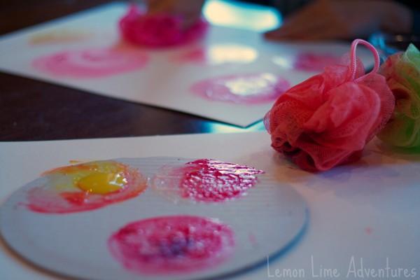 The Lorax Truffula Painting