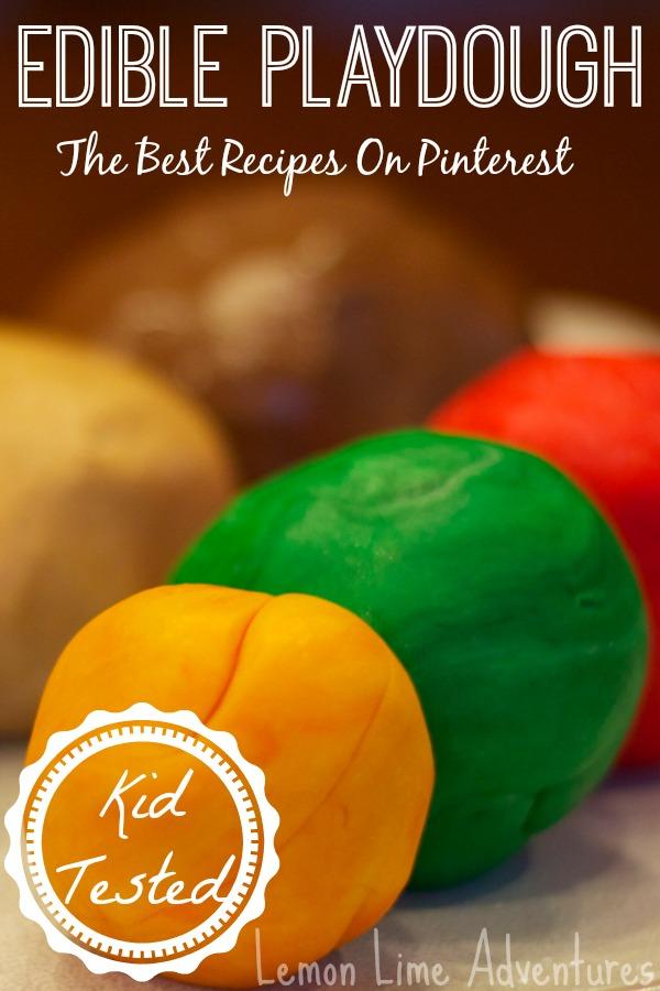 The Best Edible Playdough Recipes