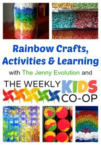 rainbow activities Spring from Jenny Evolution