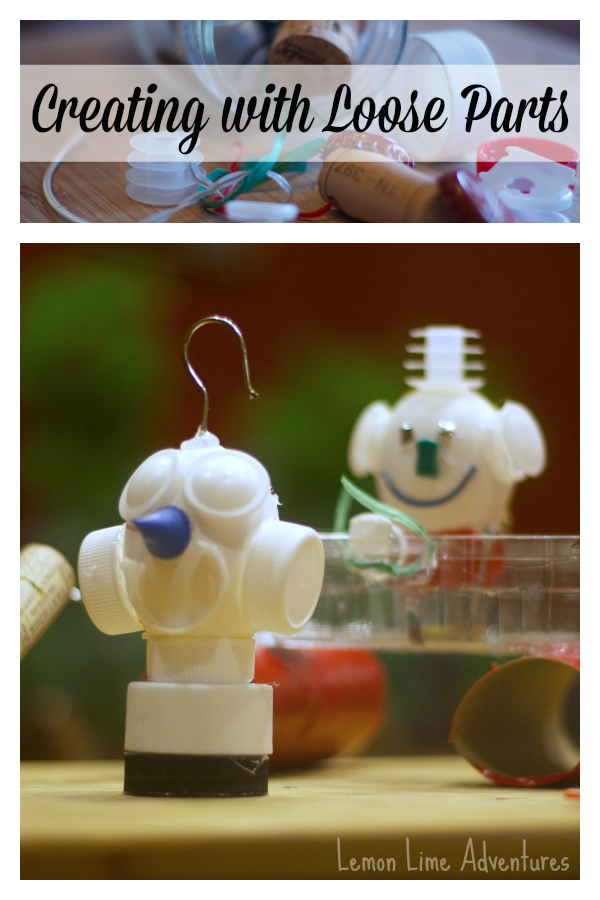 Creating with Loose Parts Eggbots