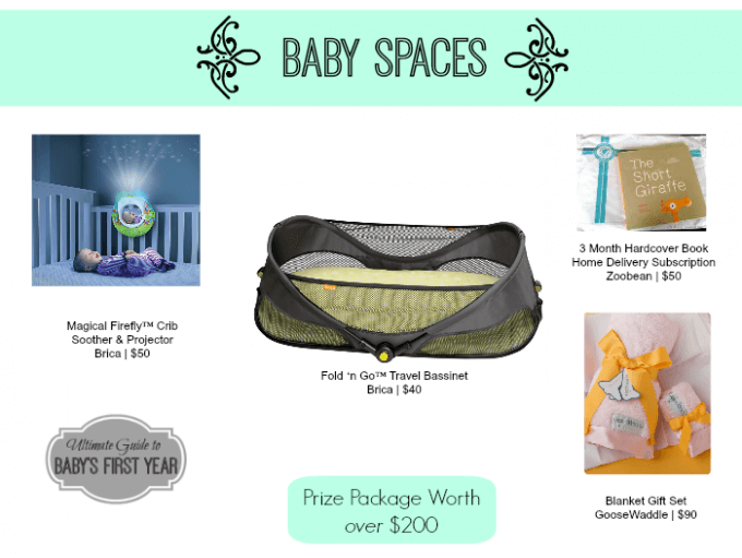 Baby Spaces Nursery and Play Space Giveaway.