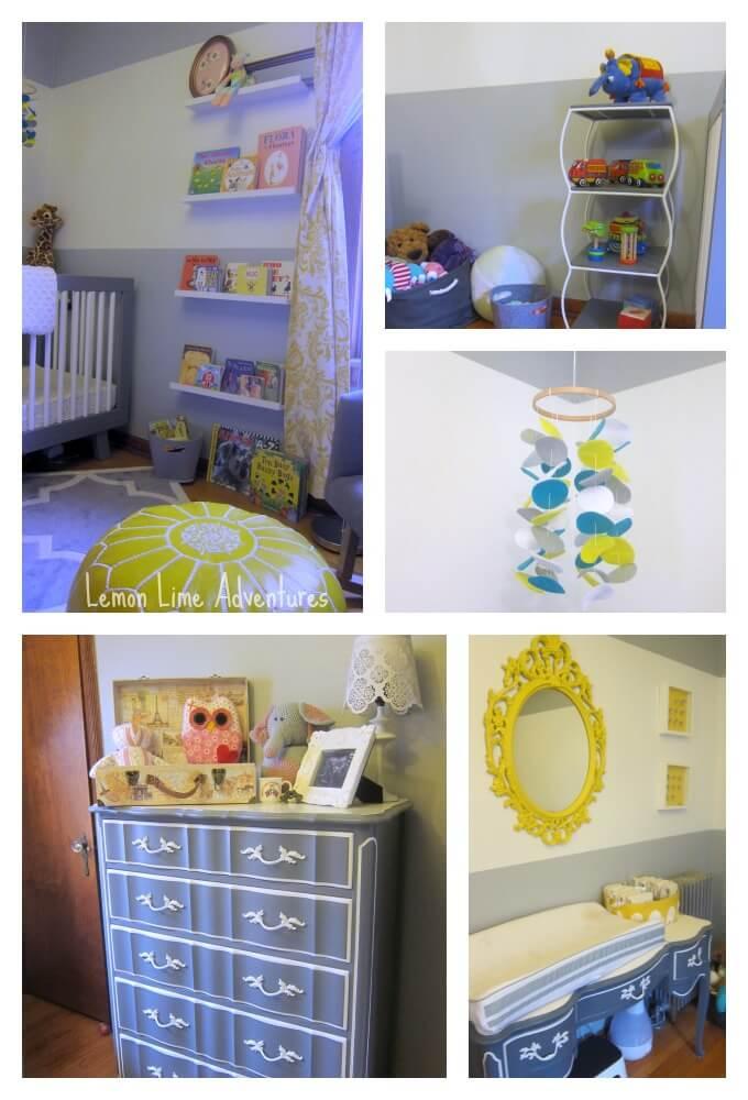 Yellow and Grey Nursery Ideas