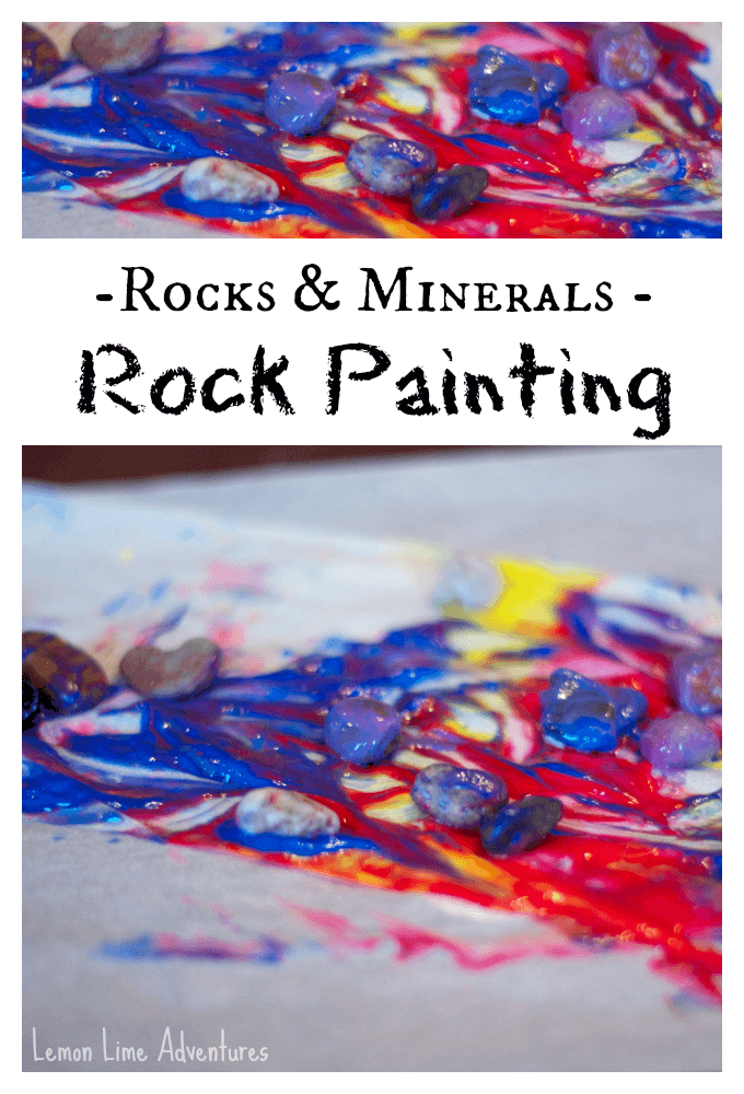 Rocks and Minerals Rock Painting