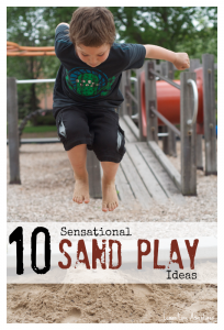 10 Sensational Sand Play Ideas
