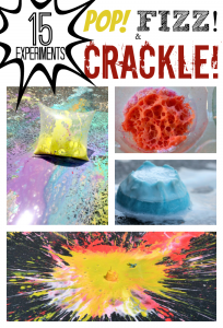15 Science Experiments that POP, FIZZ and CRACKLE
