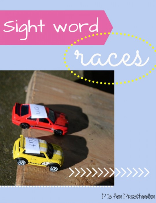 Sight Word Races
