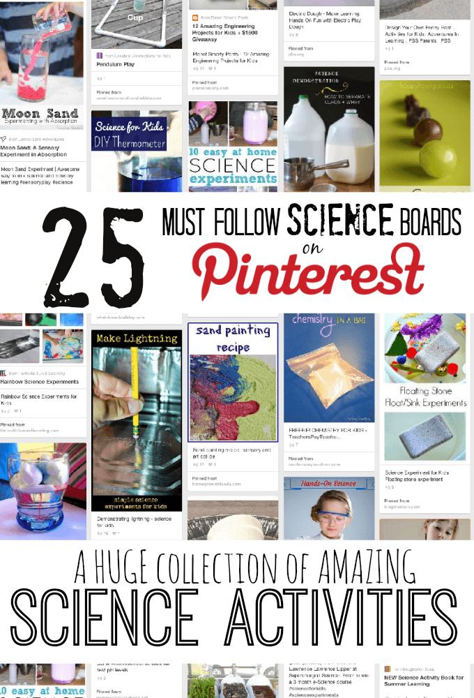 The Best Science Pinterest Boards