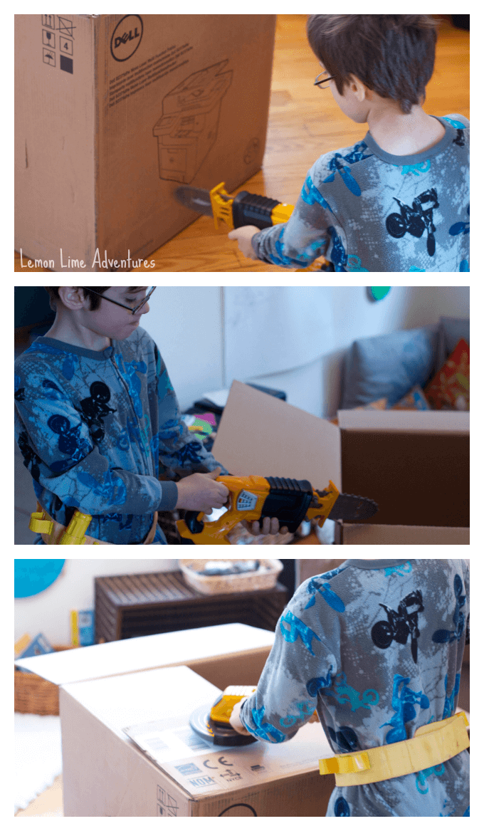 Pretending to Create Rocket Box