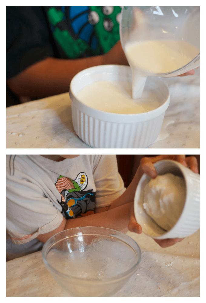 Testing Ice Cream Dough