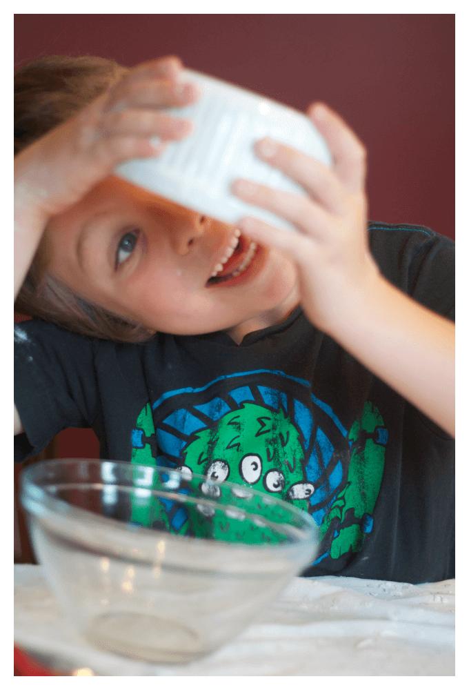 Testing Viscosity for Ice Cream Dough