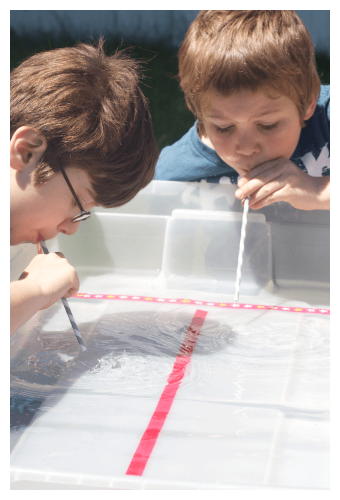 ice cube sensory play science game