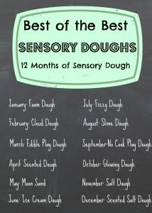 12 months of Sensory