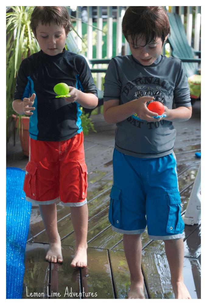 Pool Relay Races