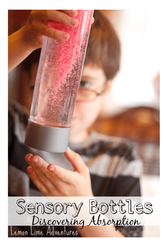 Sensory Bottles for Discovering Absorption