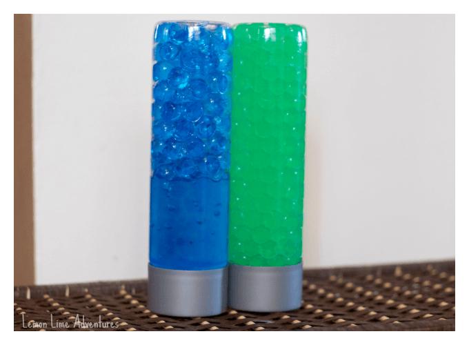 Water Beads Sensory Bottles