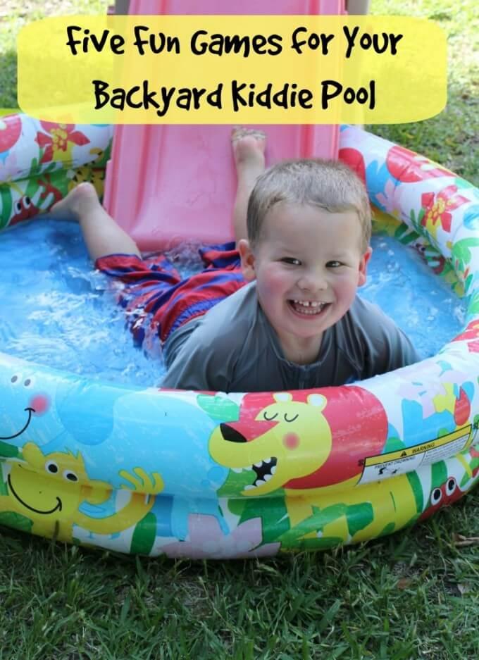 Kiddie Pool Games