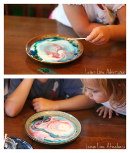 Magic Milk for Toddlers and Preschoolers with Palmolive Dish Soap |#Palmolive25Ways #cbias