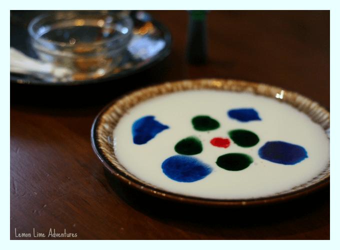 Milk and Dish Soap Experiment
