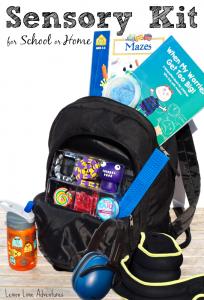 Sensory Tools   Sensory Kit for School or Home