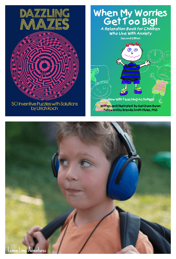 Tools to Help Calm Anxiety and sensory Overload