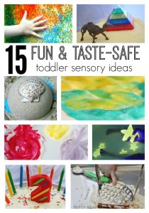 15 Taste Safe Toddler Sensory Play Ideas